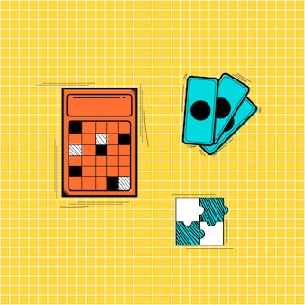 Ilustración del doodle de negocio de inicio