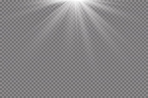 Ilustración de efecto de luz