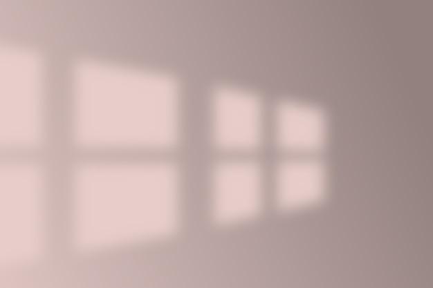 Ilustración del efecto de superposición de sombras realista.