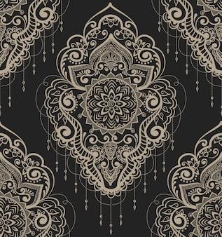 Ilustración de elemento ornamental abstracto
