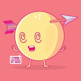 Ilustración de emoji loco. comunicación, tecnología, concepto de diseño de redes sociales.