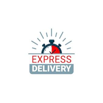 Ilustración de entrega urgente.