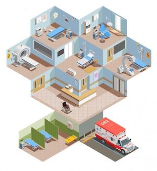 Ilustración de equipos médicos