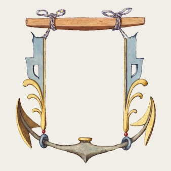 Ilustración de escudo de brazo