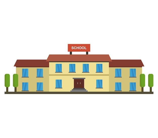 Ilustración de la escuela