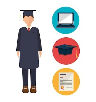 Ilustración de excelencia académica