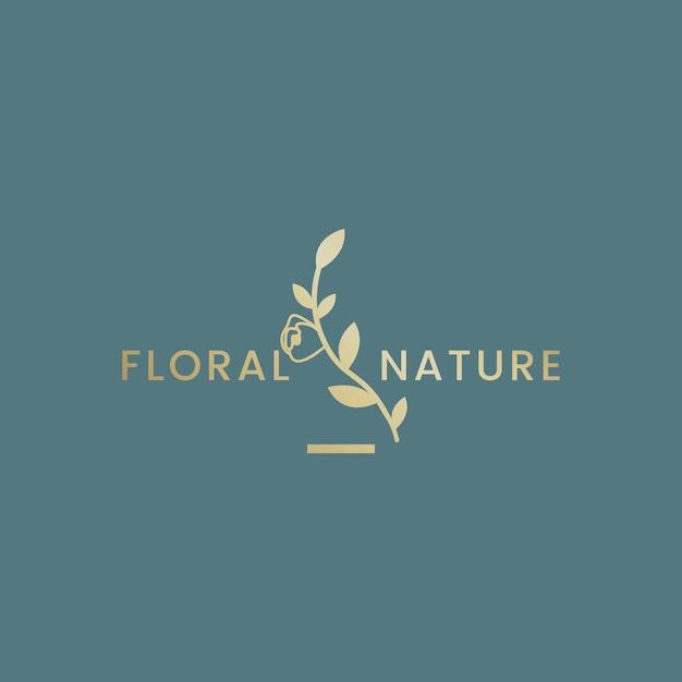 Ilustración floral botánica