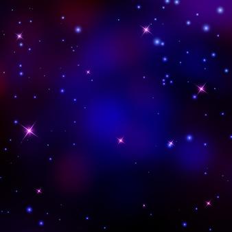 Ilustración de fondo de espacio vectorial