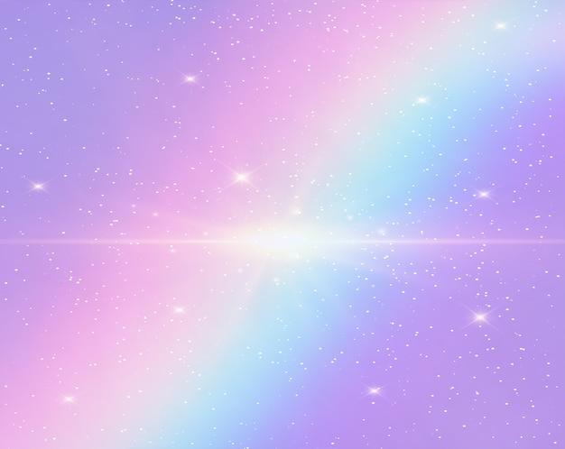 Ilustración del fondo de fantasía galaxia