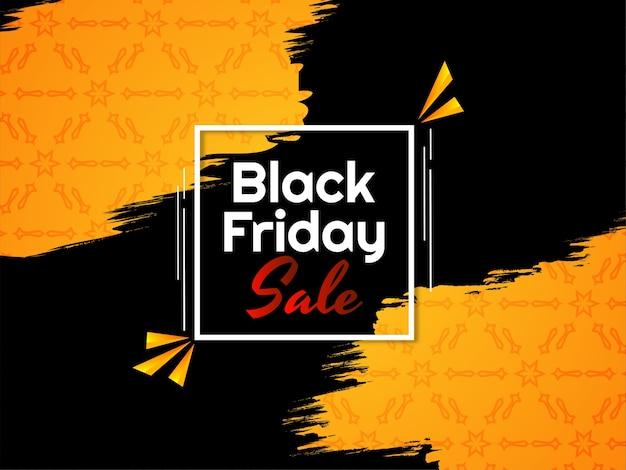 Ilustración del fondo moderno de venta de viernes negro