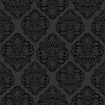 Ilustración de fondo de pantalla de fondo oriental victoriano oscuro