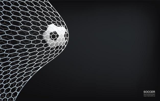 Ilustración de fondo con temática de fútbol
