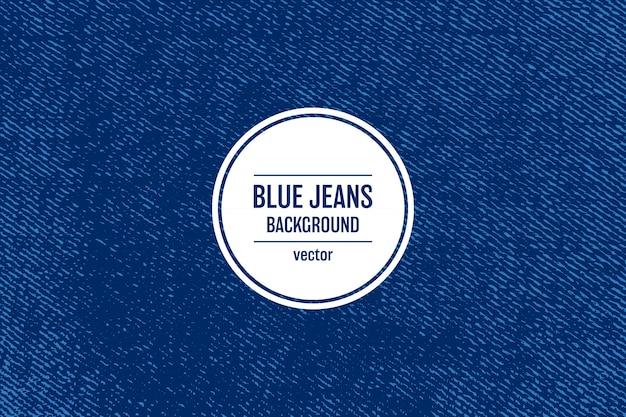 Ilustración de fondo de textura de jeans