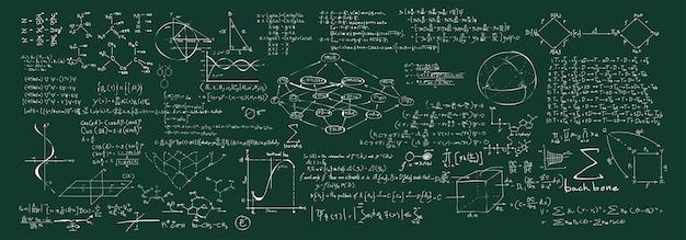 Ilustración de fórmulas químicas