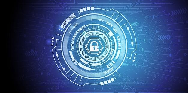Ilustración general del concepto de regulación de protección de datos (gdpr)