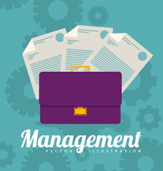 Ilustración de gestión