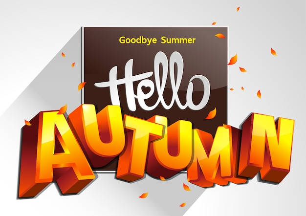 Ilustración de good bye summer