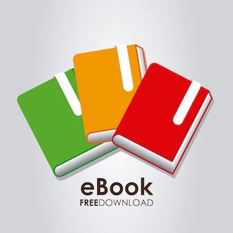 Ilustración gráfica de ebook