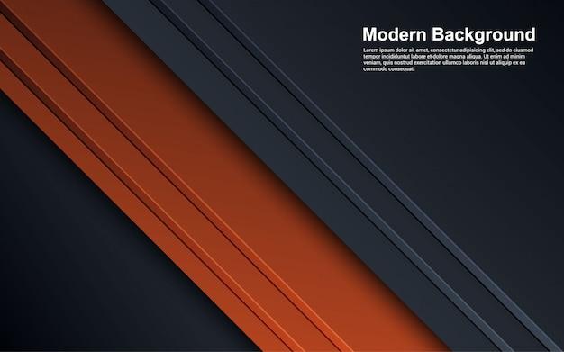 Ilustración gráfica de gradientes de fondo abstracto color moderno