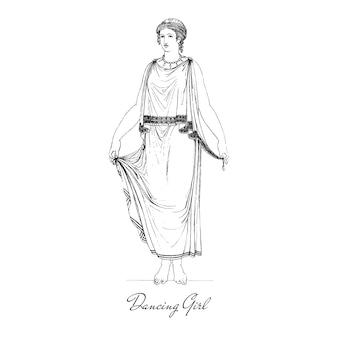 Ilustración de grecia antigua