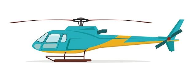 Ilustración del helicóptero