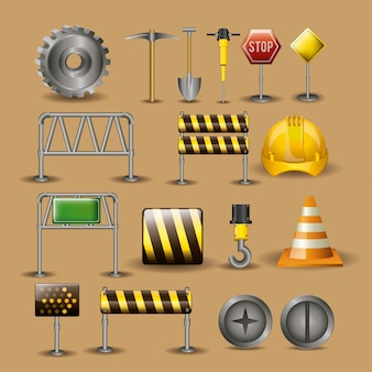 Ilustración de herramientas