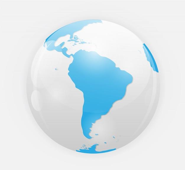 Ilustración del icono de globo