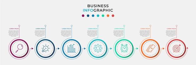 Ilustración de infografía