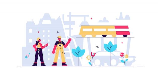 Ilustración de ingeniería civil.