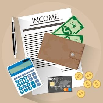 Ilustración de ingresos