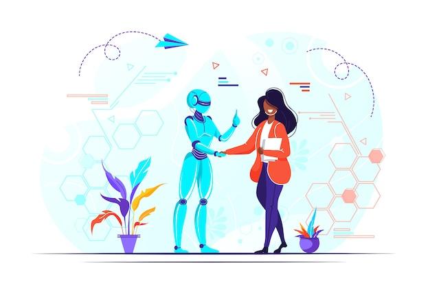 Ilustración de inteligencia artificial
