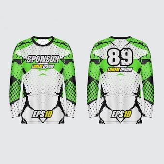 Ilustración de jersey deportivo