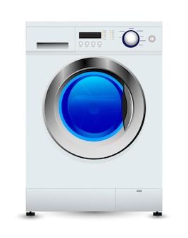 Ilustración de lavadora cerrada