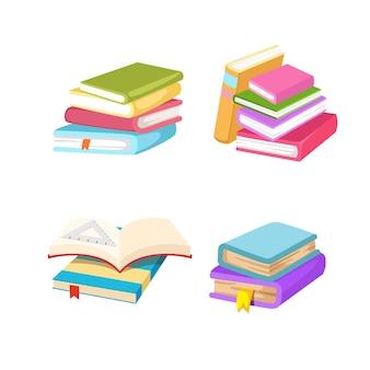 Ilustración de un libro grupal