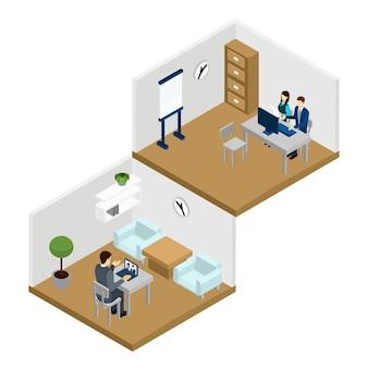 Ilustración en línea de personas