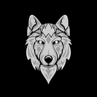 Ilustración de lobo