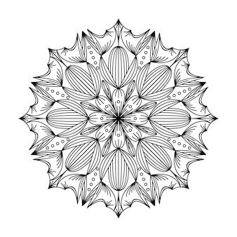 Ilustración del logo de mandala