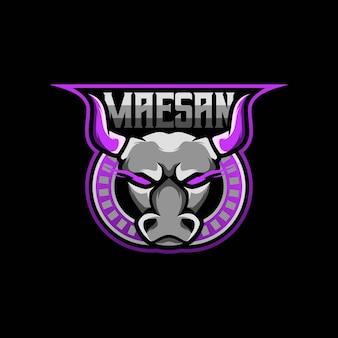 Ilustración del logotipo de toro