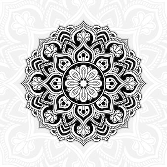Ilustración de mandala de lujo