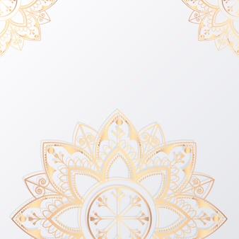 Ilustración de mandala