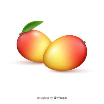 Ilustración mango realista