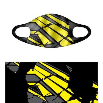 Ilustración de máscara de buceo