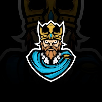 Ilustración de la mascota del rey