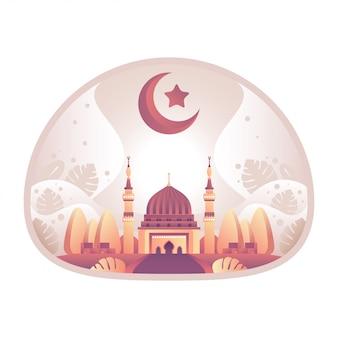 Ilustración de la mezquita