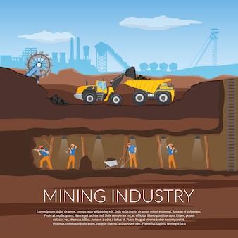 Ilustración minera