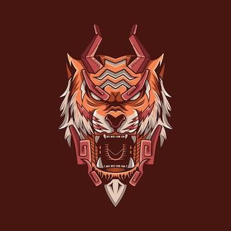 Ilustración del monstruo tigre