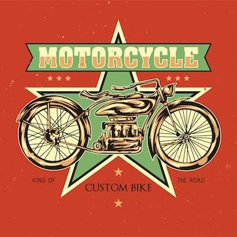 Ilustración de motocicleta