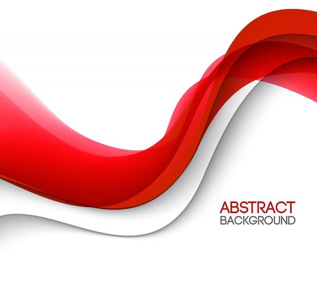 Ilustración de movimiento de onda suave abstracto