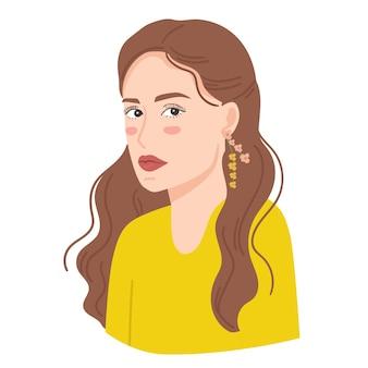 Ilustracion de mujer hermosa