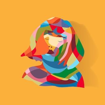 Ilustración de mujer